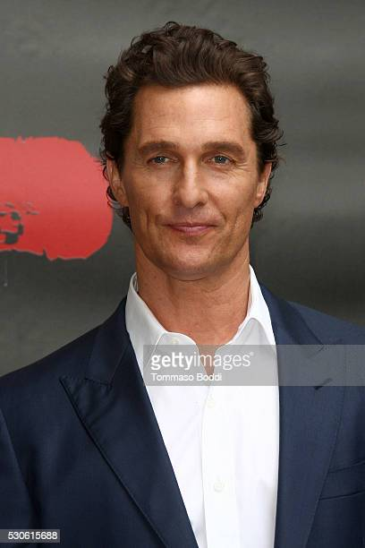 Actor Matthew McConaughey attends the photo call for STX Entertainment's Free State Of Jones held at the Four Seasons Hotel Los Angeles at Beverly...