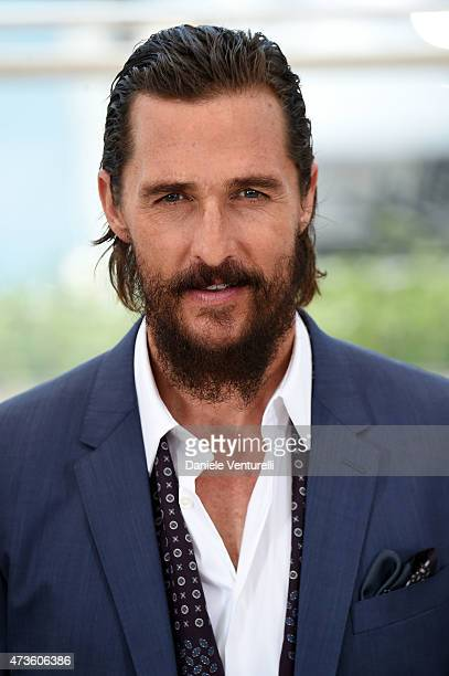 "Actor Matthew McConaughey attends ""The Sea Of Trees"" Photocall during the 68th annual Cannes Film Festival on May 16, 2015 in Cannes, France."