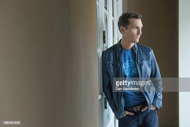 Actor Matthew Mcconaughey is photographed for USA Today on October 12 2013 in Los Angeles California PUBLISHED IMAGE