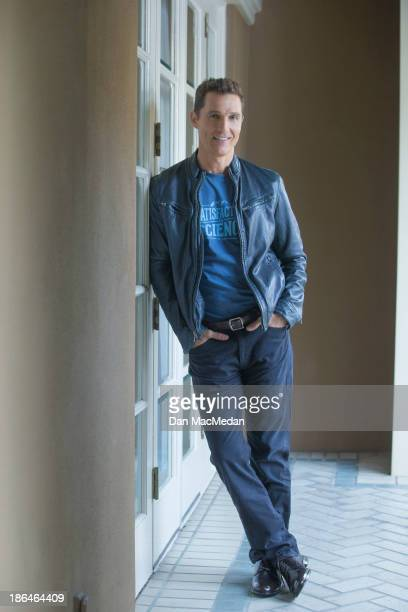 Actor Matthew Mcconaughey is photographed for USA Today on October 12 2013 in Los Angeles California