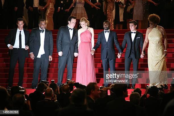 Actor Matthew McConaughey, US director Lee Daniels, US actor John Cusack, Australian actress Nicole Kidman, British actor David Oyelowo, US actor Zac...
