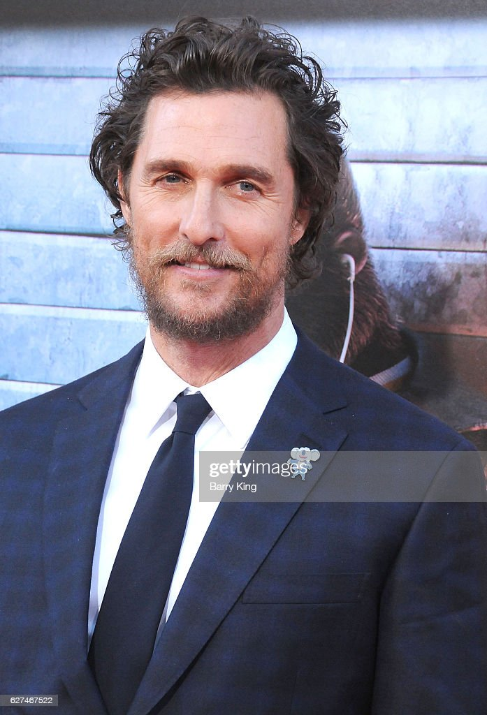 Actor Matthew Mcdonaughey attends the premiere of Universal Pictures' 'Sing' at Microsoft Theater on December 3, 2016 in Los Angeles, California.