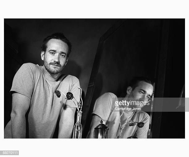 Actor Matthew McFadyen poses at a photoshoot in Hollywood MewsLondon on the 23rd of July 2003