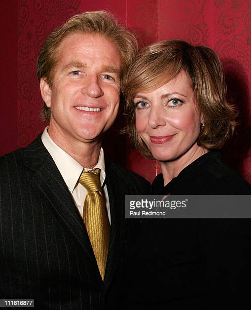 Actor Matthew Modine and Actress Allison Janney at LIVEstyle Entertainment Supper Club at STK LA celebrating Fox Searchlight Pictures' 7 Oscar and 11...