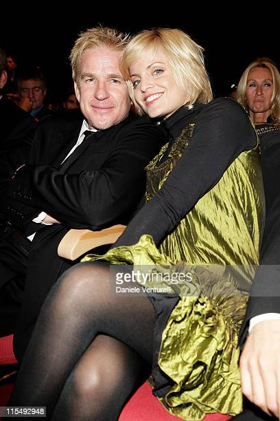 Actor Matthew Modine and actress Mena Suvari attends the 'The Garden Of Eden' premiere during the 3rd Rome International Film Festival held at the...