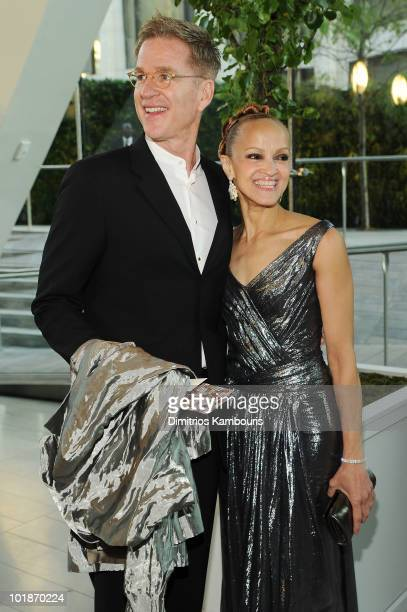 Actor Matthew Modine and Cari Modine attend the 2010 CFDA Fashion Awards at Alice Tully Hall Lincoln Center on June 7 2010 in New York City
