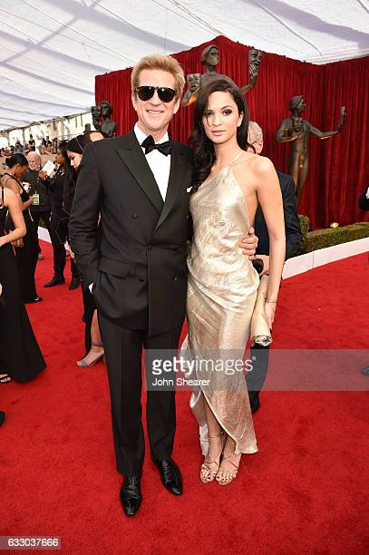 Actor Matthew Modine and Ruby Modine attend The 23rd Annual Screen Actors Guild Awards at The Shrine Auditorium on January 29 2017 in Los Angeles...