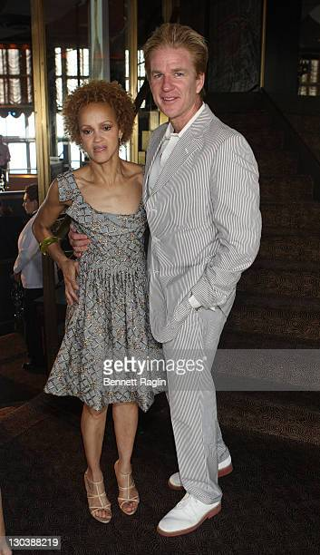 Actor Matthew Modine and wife Caridad Rivera attend the 3rd Annual Artistry of Fashion Award Benefit Luncheon at Rainbow Room in Rockefeller Center...