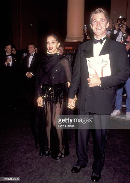Actor Matthew Modine and wife Caridad Rivera attend the 'Valentino Thirty Years of Magic' Gala Retrostpective of Valentino's Fashion Career on...