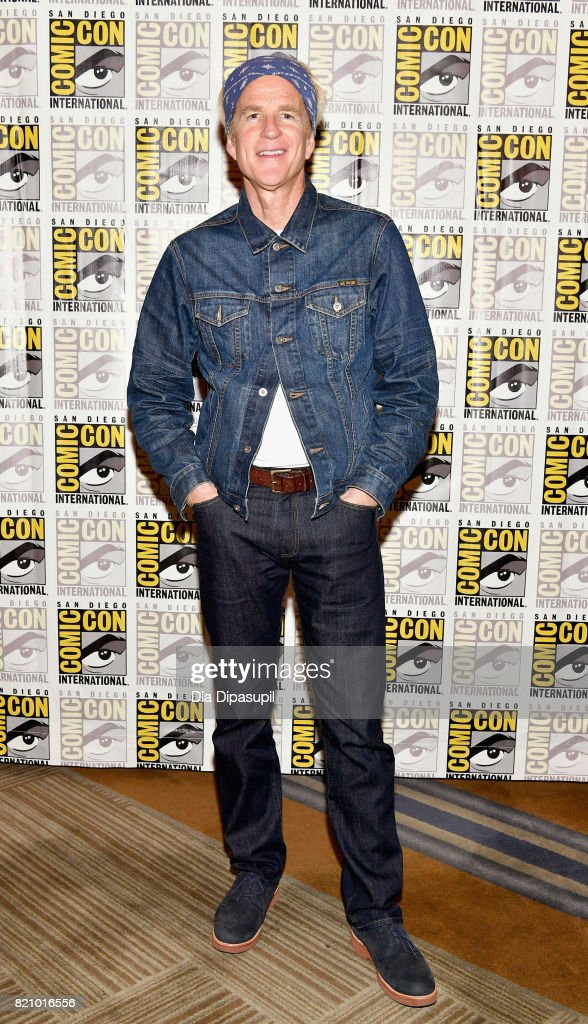 Actor Matthew Modine at Netflix's 'Stranger Things' Press line during Comic-Con International 2017 at Hilton Bayfront on July 22, 2017 in San Diego, California.