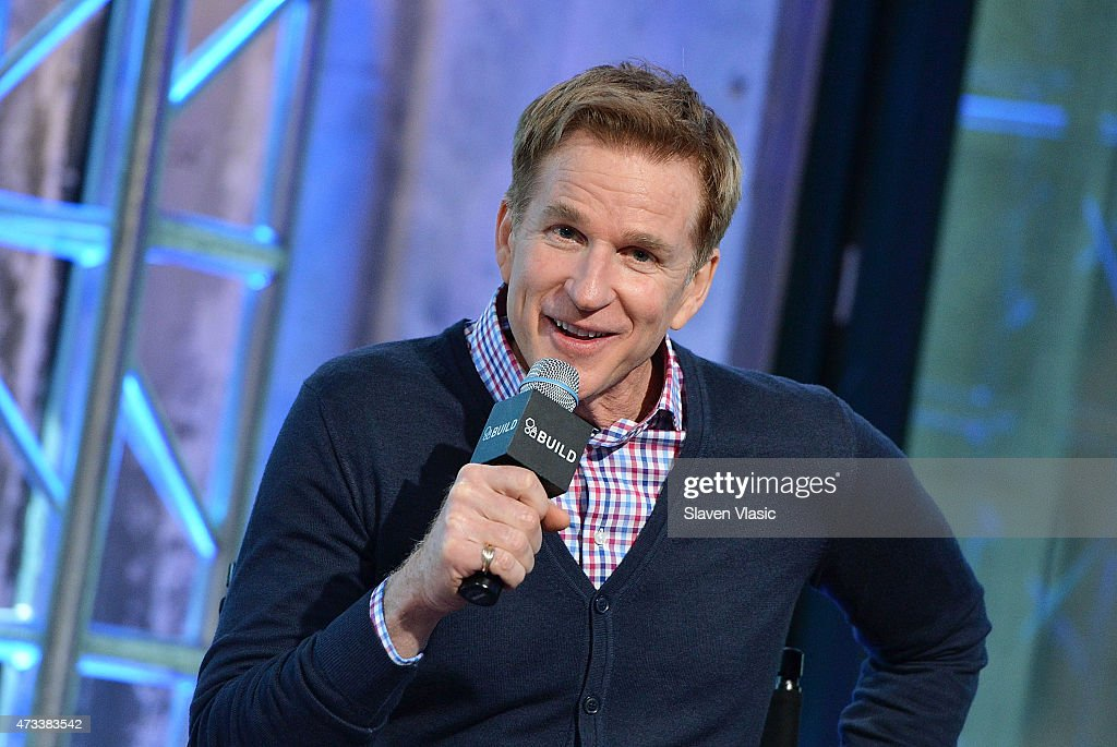 Actor Matthew Modine attends AOL's BUILD Speaker Series to talk about his new TNT series 'Proof' at AOL Studios In New York on May 14, 2015 in New York City.