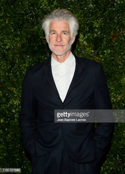 Actor Matthew Modine attends Charles Finch And CHANEL's 11th Annual PreOscar Awards Dinner at Polo Lounge at The Beverly Hills Hotel on February 23...