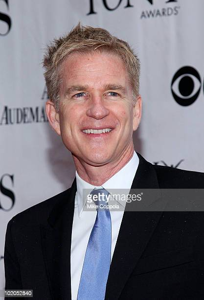 Actor Matthew Modine attends the 64th Annual Tony Awards at Radio City Music Hall on June 13 2010 in New York City