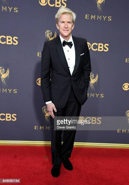 Actor Matthew Modine attends the 69th Annual Primetime Emmy Awards at Microsoft Theater on September 17 2017 in Los Angeles California