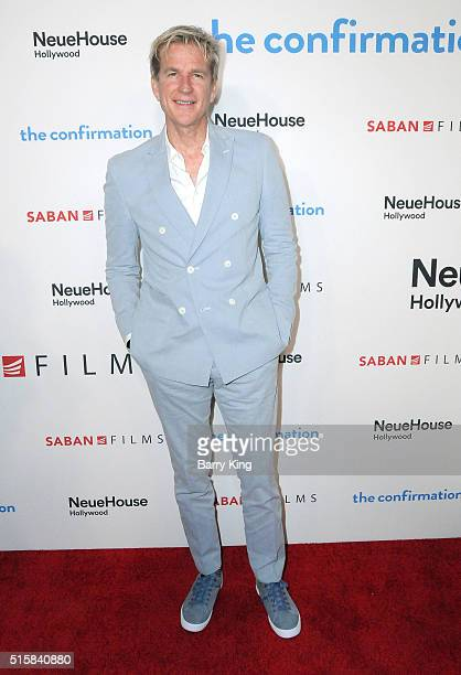 Actor Matthew Modine attends the Premiere of Saban Films' 'The Confirmation' at NeueHouse Hollywood on March 15 2016 in Los Angeles California