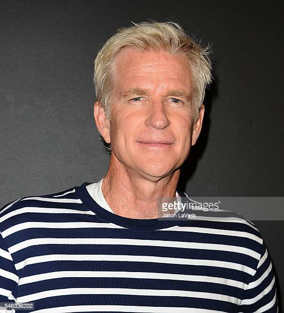 Actor Matthew Modine attends the premiere of Stranger Things at Mack Sennett Studios on July 11 2016 in Los Angeles California