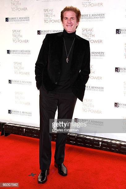 Actor Matthew Modine attends the RFK Center Ripple of Hope Awards dinner at Pier Sixty at Chelsea Piers on November 18 2009 in New York City