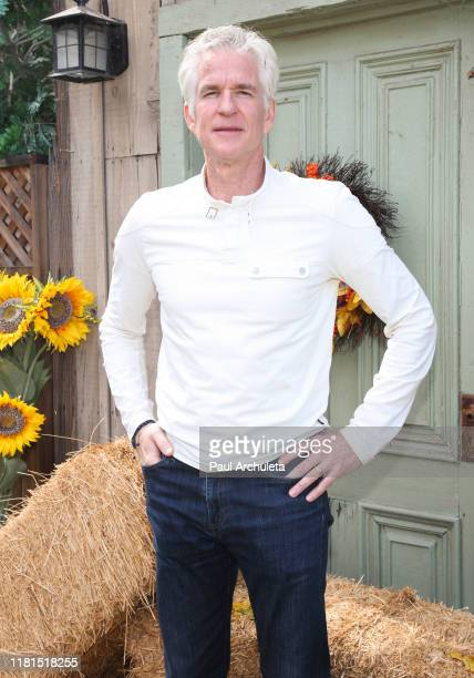 Actor Matthew Modine visits Hallmark Channel's Home Family at Universal Studios Hollywood on October 16 2019 in Universal City California