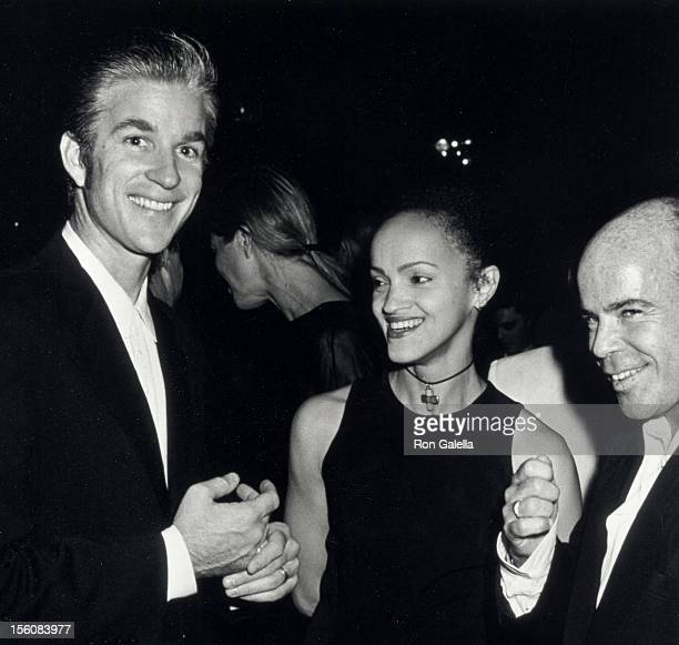 Actor Matthew Modine wife Caridad Rivera and columnist Billy Norwich attending the publication party for Richard Avedon's 'An Autobiography' on...
