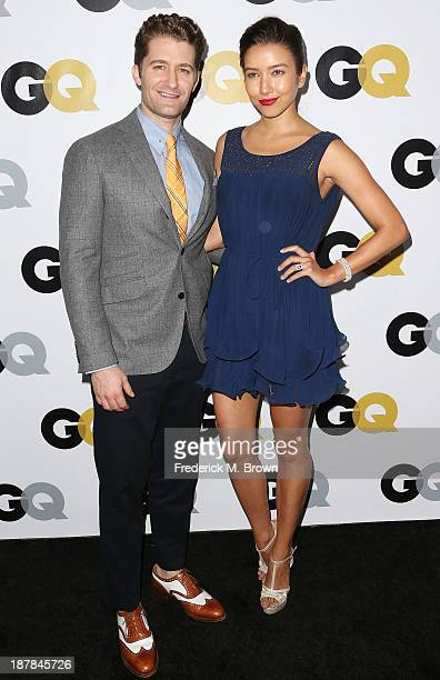 Actor Matthew Morrison and his guest attend the GQ Men Of The Year Party at The Ebell Club of Los Angeles on November 12 2013 in Los Angeles...