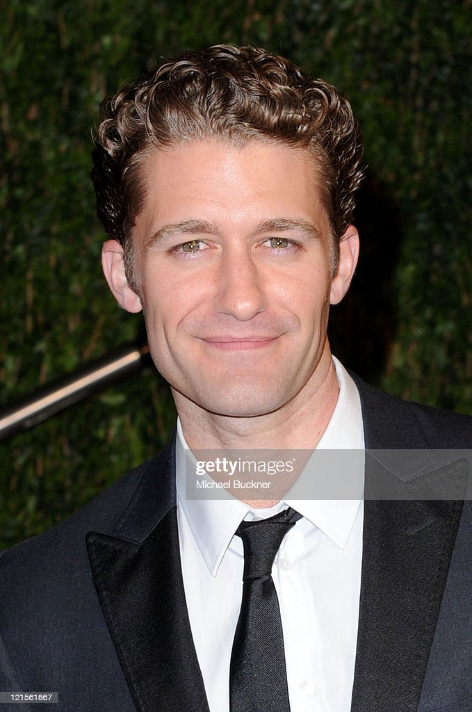 Actor Matthew Morrison arrives at the 2010 Vanity Fair Oscar Party hosted by Graydon Carter held at Sunset Tower on March 7, 2010 in West Hollywood, California.