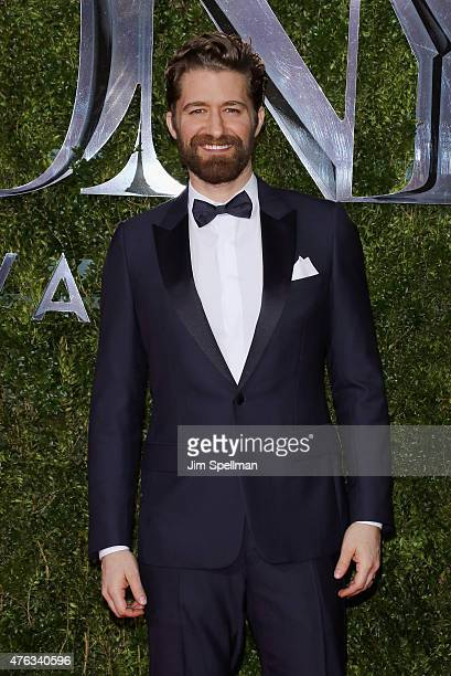 Actor Matthew Morrison attends American Theatre Wing's 69th Annual Tony Awards at Radio City Music Hall on June 7 2015 in New York City