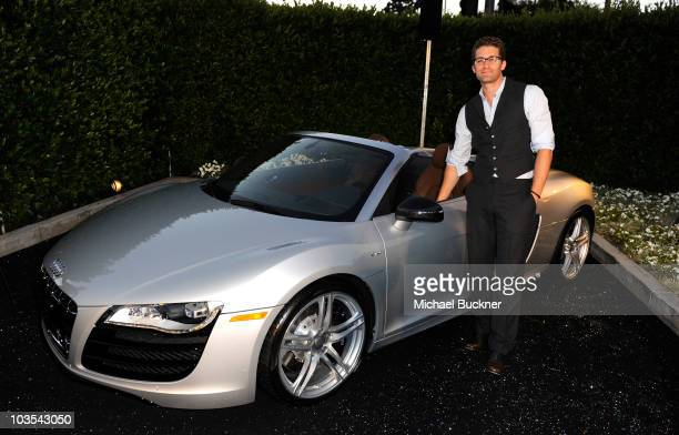 Actor Matthew Morrison attends Audi Celebrates the 2010 Emmy Awards at Cecconi's Restaurant on August 22 2010 in Los Angeles California