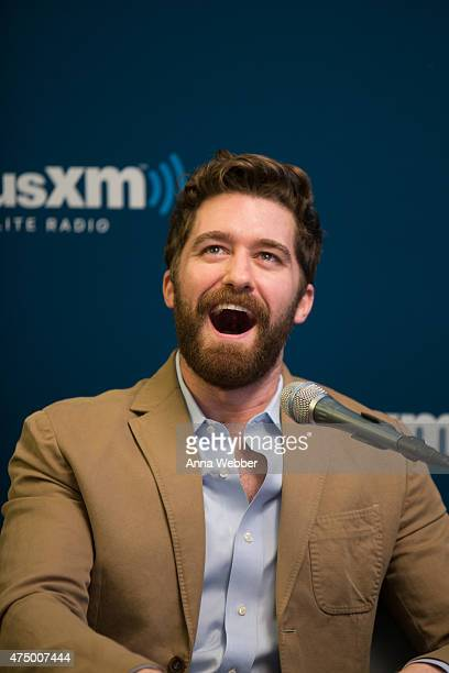 Actor Matthew Morrison attends SiriusXM's 'Town Hall' With Matthew Morrison Michelle Kelly And Kelsey Grammer at SiriusXM Studio on May 28 2015 in...