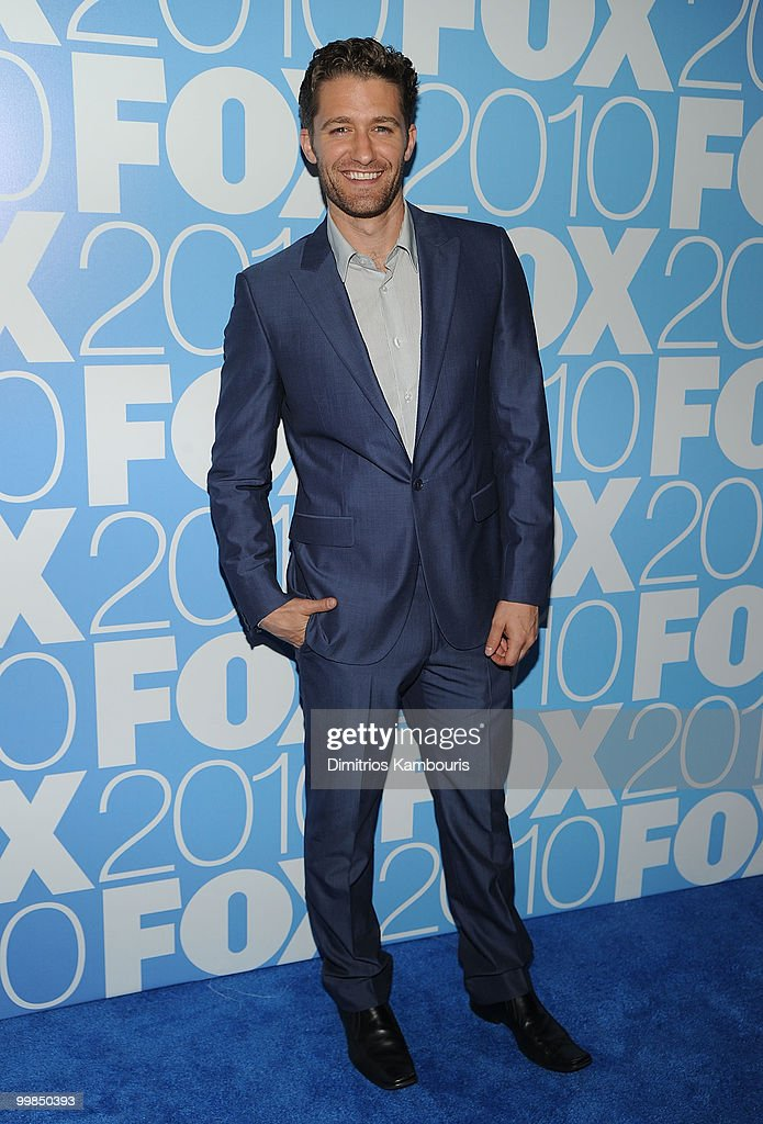Actor Matthew Morrison attends the 2010 FOX Upfront after party at Wollman Rink, Central Park on May 17, 2010 in New York City.