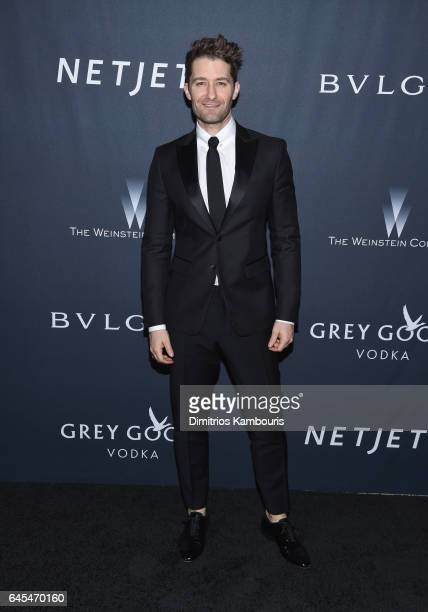 Actor Matthew Morrison attends The Weinstein Company's PreOscar Dinner in partnership with Bvlgari and Grey Goose at Montage Beverly Hills on...