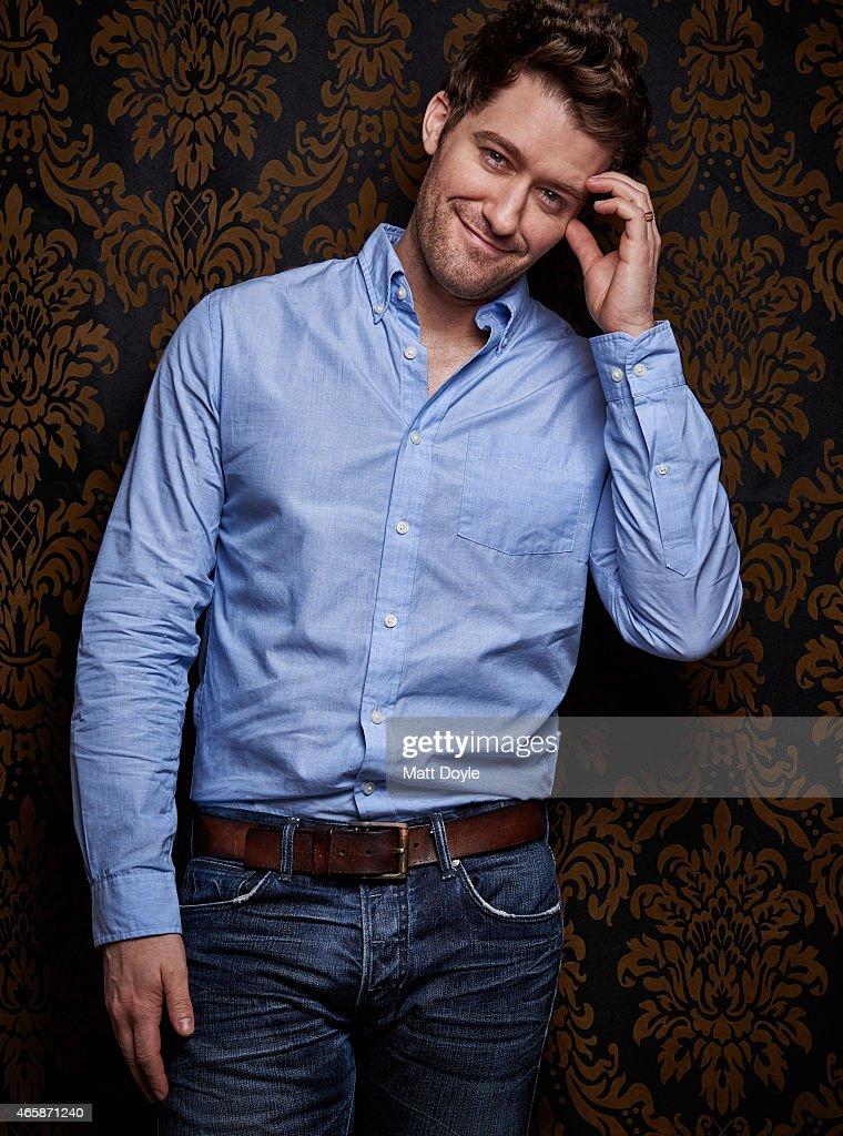 Matthew Morrison, Backstage, March 4, 2015
