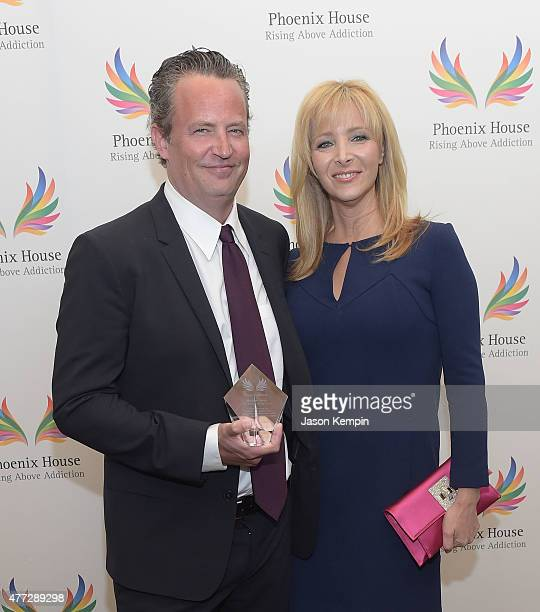 Actor Matthew Perry and actress Lisa Kudrow attend Phoenix House's 12th Annual Triumph For Teens Awards Gala at the Montage Beverly Hills on June 15...