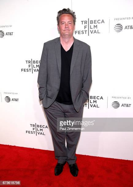 Actor Matthew Perry attends 2017 Tribeca Film Festival The Circle the at BMCC Tribeca PAC on April 26 2017 in New York City