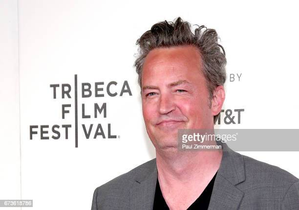 """Actor Matthew Perry attends 2017 Tribeca Film Festival - """"The Circle"""" the at BMCC Tribeca PAC on April 26, 2017 in New York City."""