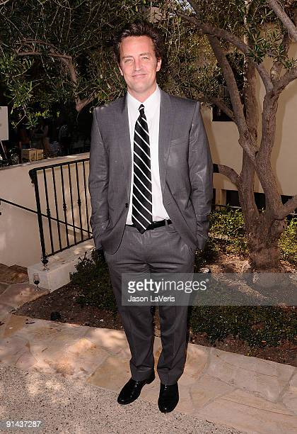 Actor Matthew Perry attends the 12th annual Lili Claire Foundation benefit luncheon on October 4 2009 in Brentwood California
