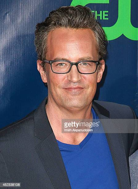 Actor Matthew Perry attends the CBS The CW Showtime CBS Television Distribution's 2014 TCA Summer Press Tour Party at Pacific Design Center on July...