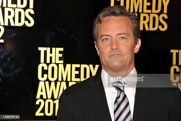 Actor Matthew Perry attends The Comedy Awards 2012 at Hammerstein Ballroom on April 28 2012 in New York City