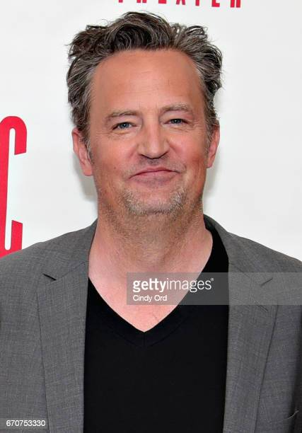 Actor Matthew Perry attends The End Of Longing cast photocall at Roundabout Rehearsal Studio on April 20 2017 in New York City