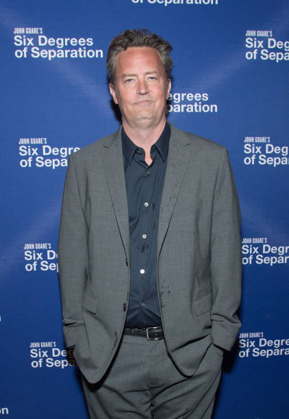 Actor Matthew Perry Attends The Six Degrees Of Separation Opening Night Celebration At