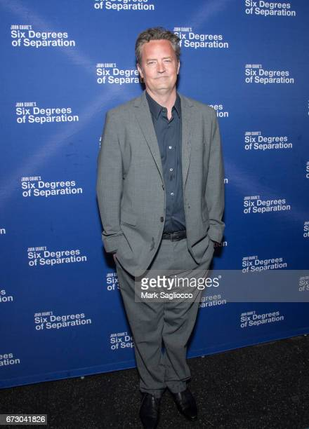 Actor Matthew Perry attends the Six Degrees Of Separation Opening Night Celebration at the Barrymore Theatre on April 25 2017 in New York City