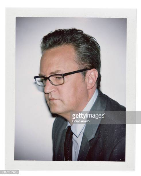 Actor Matthew Perry is photographed for The Wrap on April 5 2017 in Los Angeles California