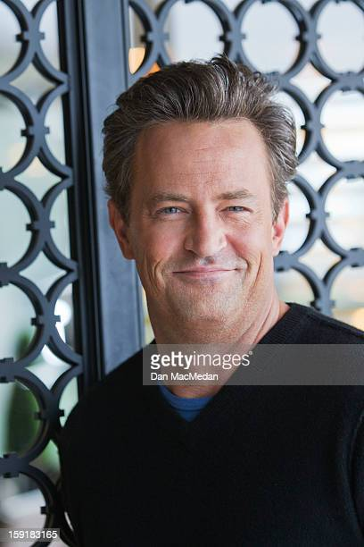 Actor Matthew Perry is photographed for USA Today on December 14 2012 in West Hollywood California PUBLISHED IMAGE