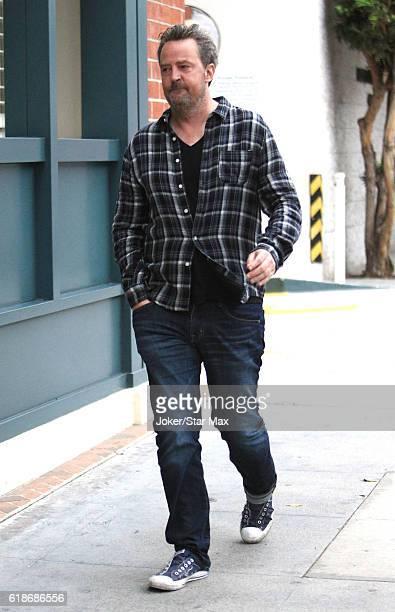 Actor Matthew Perry is seen on October 27 2016 in Los Angeles California