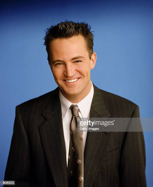 Actor Matthew Perry stars as Chandler Bing in NBC's comedy series Friends