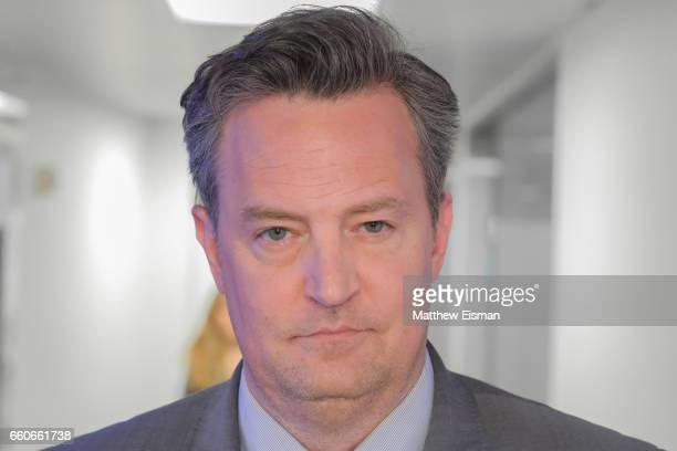 Actor Matthew Perry visits SiriusXM Studios on March 30 2017 in New York City