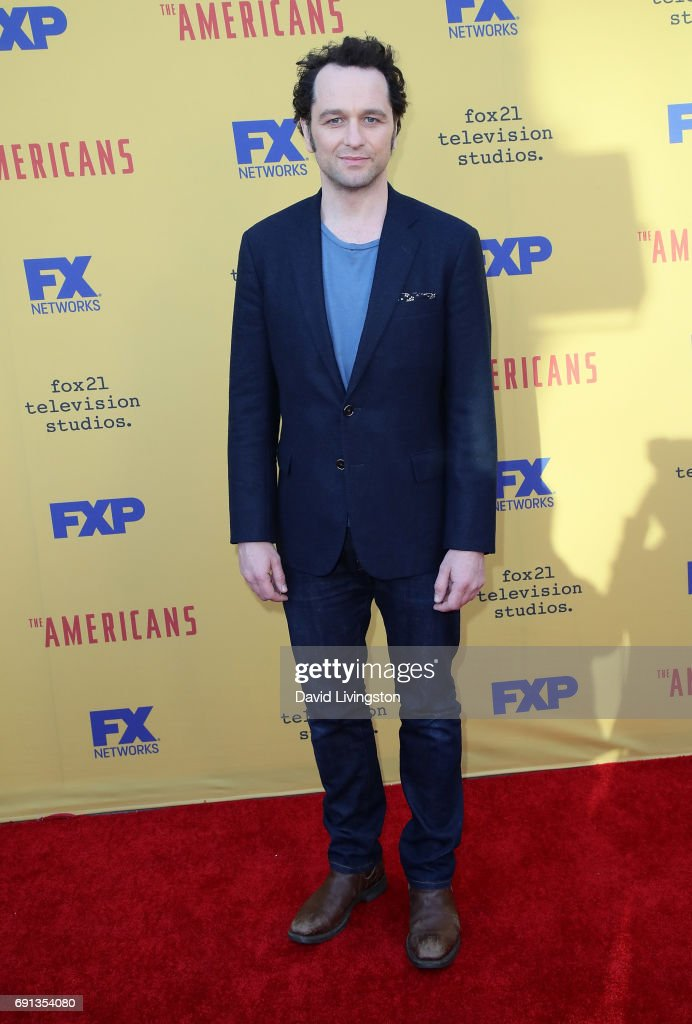 Actor Matthew Rhys attends FX's 'The Americans' For Your Consideration event at Saban Media Center on June 1, 2017 in North Hollywood, California.