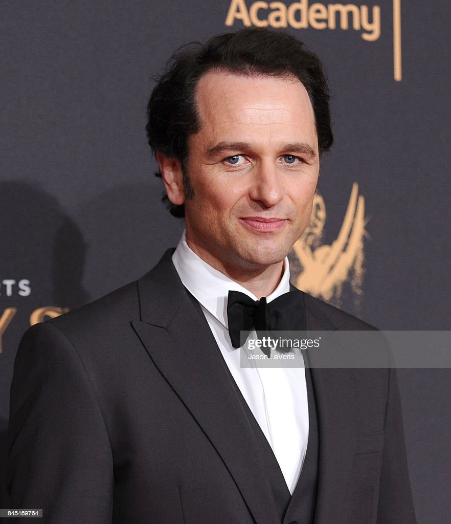 Actor Matthew Rhys attends the 2017 Creative Arts Emmy Awards at Microsoft Theater on September 10, 2017 in Los Angeles, California.