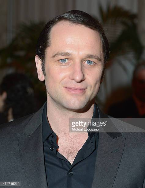 Actor Matthew Rhys attends The Americans season 2 premiere after party at The Plaza Hotel on February 24 2014 in New York City
