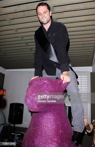 Actor Matthew Rhys attends the Mulberry LA Pool Party Bash celebrating the A/W 2010 Collection at Chateau Marmont on July 20 2010 in Los Angeles...