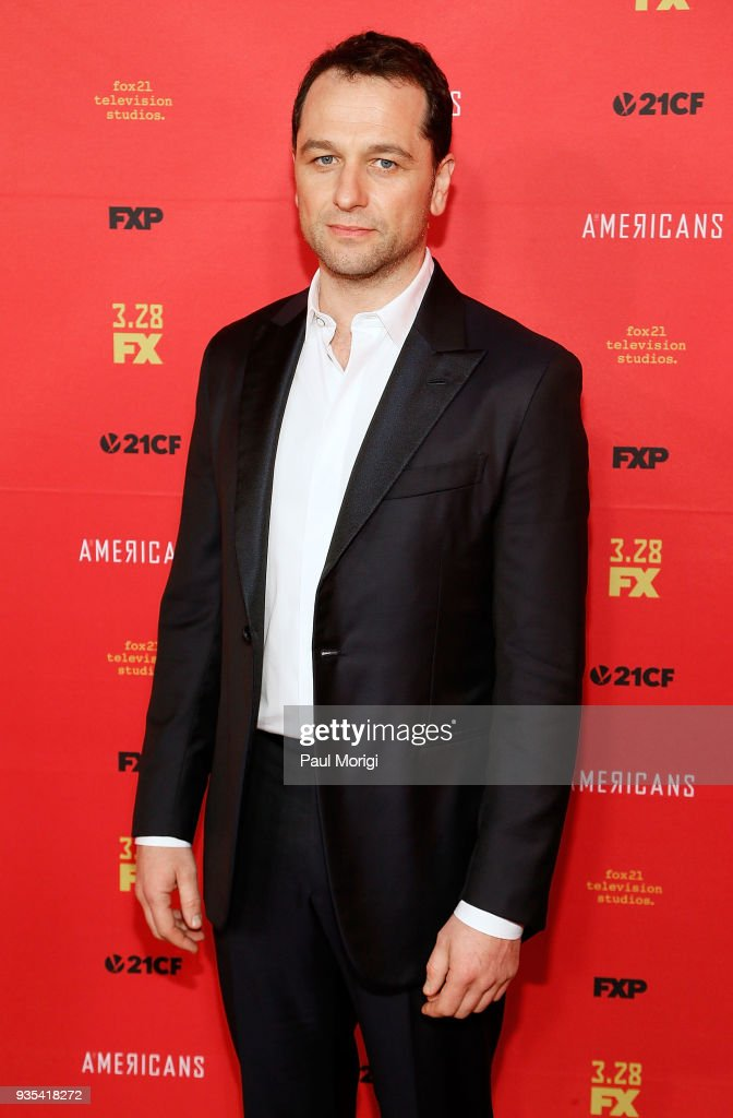 Actor Matthew Rhys attends the Washington, D.C. Premiere of FX Networks' 'The Americans' at The Newseum on March 20, 2018 in Washington, D.C.